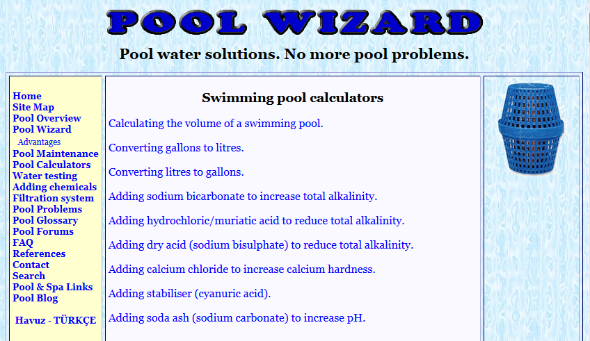Pool Calculations